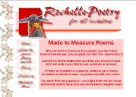 When you need to woo or insult - Rochelle will create a poem just for the occassion
